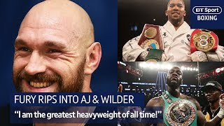 """""""Anthony Joshua, Deontay Wilder to me they"""