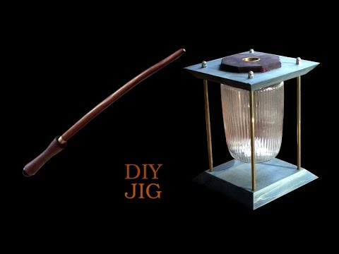 A glass with a secret or why you need a magic wand - DIY