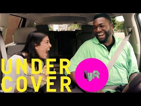 Undercover Lyft with David Ortiz