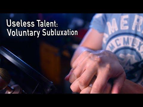 Voluntary Subluxation (dislocation): Useless Talent #6