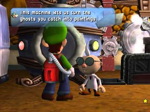 Luigi's Mansion: Bogmire early (DEAD END)