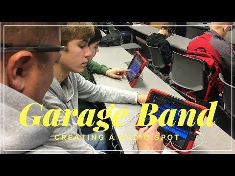 Intro to Business: GarageBand to Create a Radio Spot