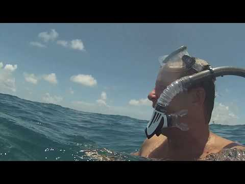 Snorkeling Key Largo, Christ Of The Abyss
