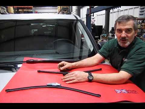 Atlantic British Presents: Land Rover LR3 Wiper Blade Installation
