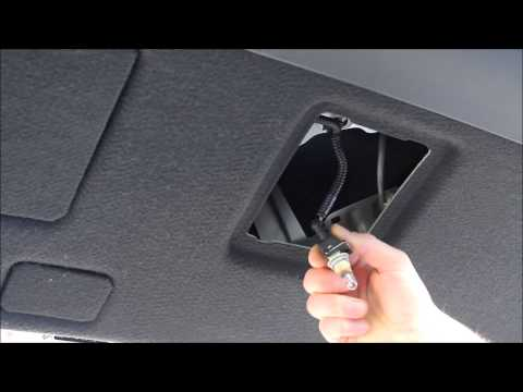 Toyota Fix -- How to replace License Plate Lights