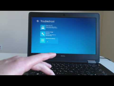 Dell Laptop Factory Restore for Windows 10 XPS, Inspiron or Latitude