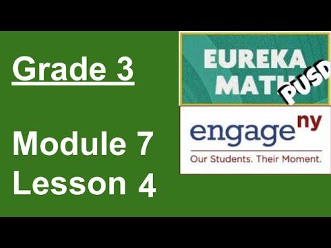 Eureka Math Grade 3 Module 7 Lesson 4