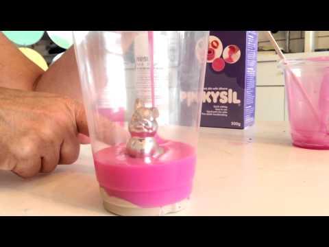 Create 3D mold using Pinkysil