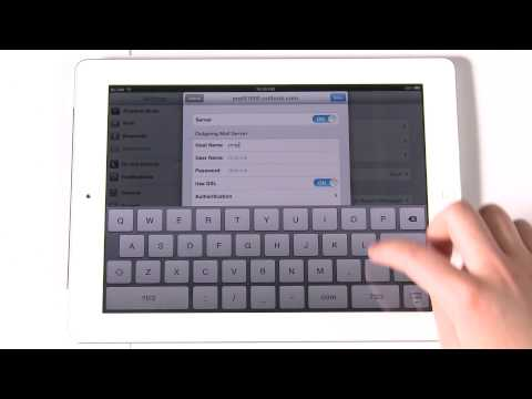 zMail - Update Office 365 account - iPad