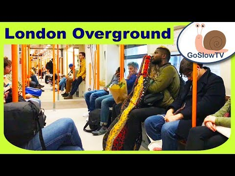 Rotherhithe To Peckham Rye Train Ride | Overground Train | London | UK | Slow TV | Episode 5 (2018)