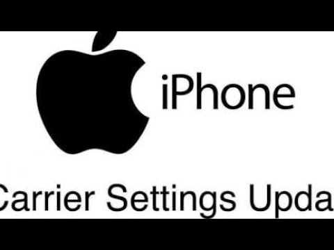 How to update your carrier settings on IOS (Iphone / Ipad)