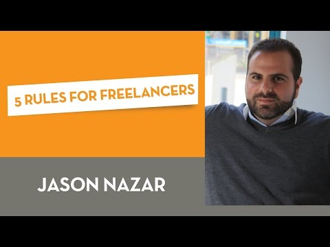 5 Rules For Freelancers
