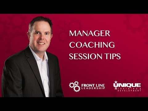 Manager Coaching Session Tips
