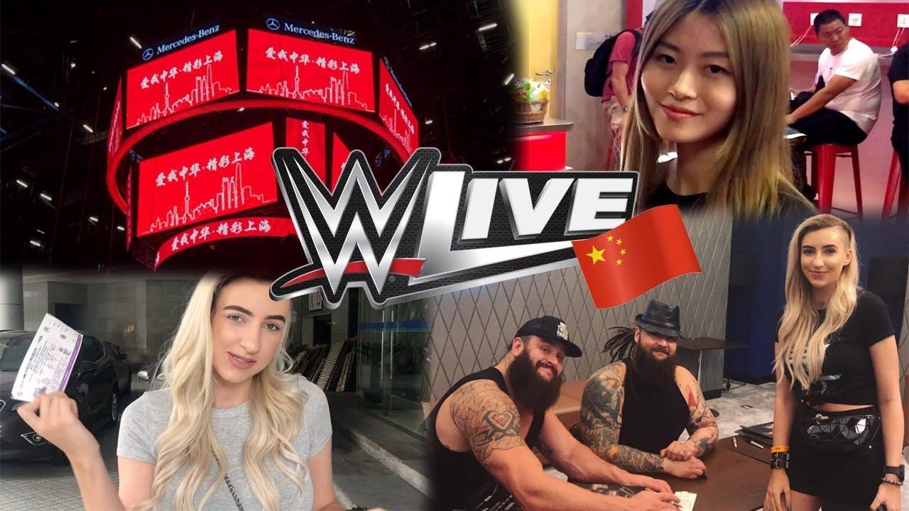 WWE SHANGHAI VLOG (M&G w/ BRAUN STROWMAN AND BRAY WYATT)