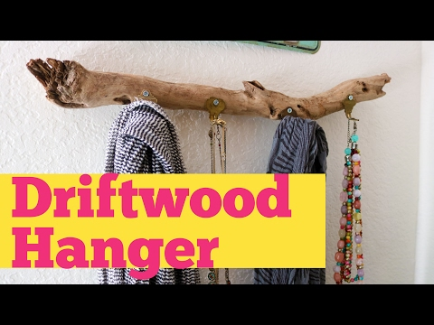Necklace Holder DIY Project | Made from Driftwood | DIY Video
