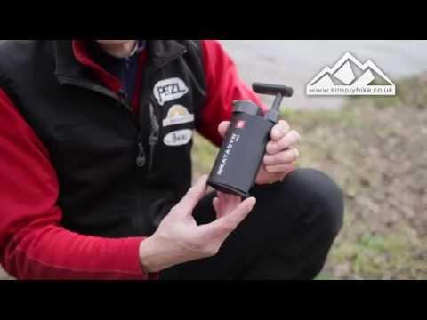 Katadyn Mini Water Purifier - www.simplyhike.co.uk