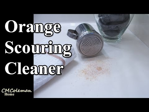 DIY Orange Scouring Cleaner