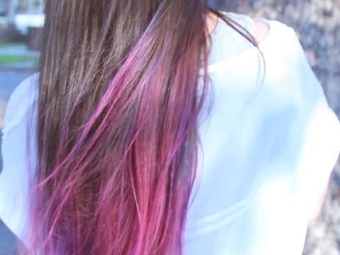 DIY Ombre Hair And Adding Color Gradients