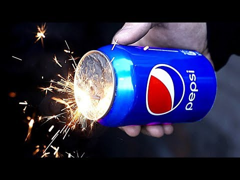 HOW TO MAKE SMOKE BOMB FROM PEPSI