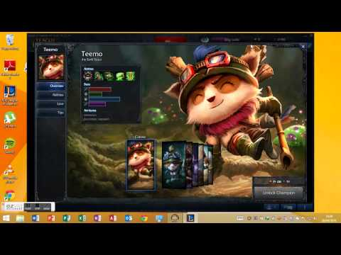 howto get free skins and jungle timer for league of legends