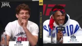 Ben Askren best moments from the #UFC Seasonal Press Conference - April 12th 2019