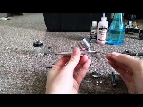 How to Properly Clean an Airbrush Gun