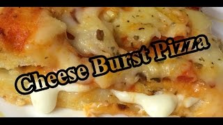 Easy To Coook Cheese Burst Pizza At Home Recipe | Pizza Recipe