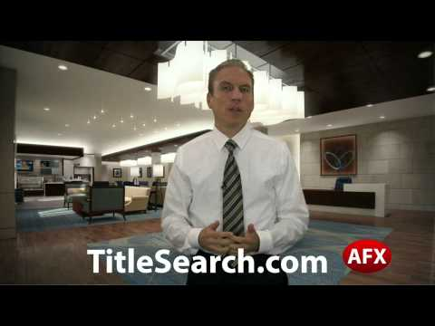 What additional information can you get in real estate title search? | AFX
