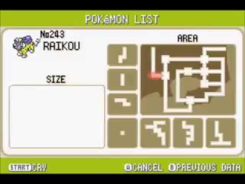 How to catch Raikou in pokemon Leafgreen/Firered