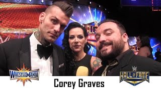 Corey Graves Interview | Wrestlemania 33 Hall of Fame Ceremony