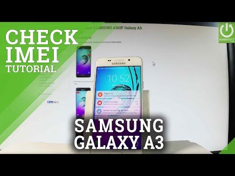 How to Check IMEI Number in SAMSUNG Galaxy A3 (2016) - IMEI Info