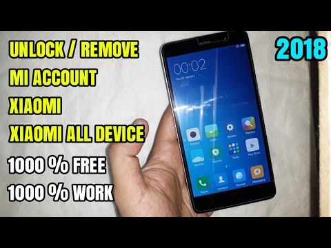 Cara Unlock/Remove Mi Account Xiaomi All Device Tanpa Pc/Flashing Gratis 100% Work
