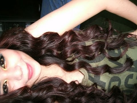 Miley Cyrus Inspired Curls and Waves Hair Tutorial