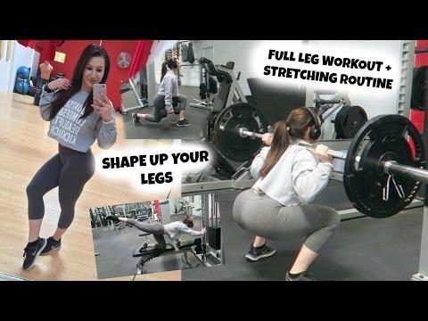 Shape Up Your LEGS | Full Leg workout