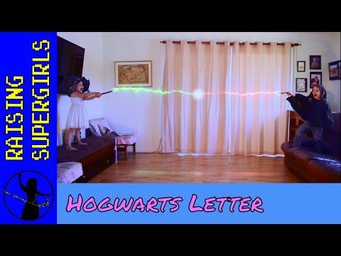 Raising Supergirls: Hogwarts Letter
