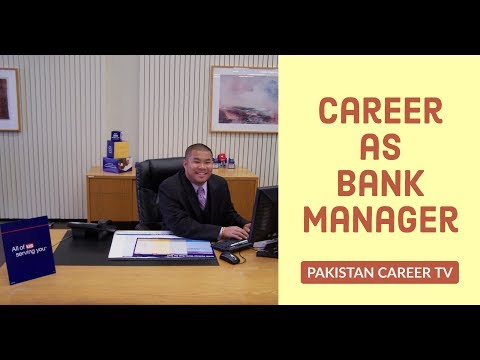 Career As Bank Manager
