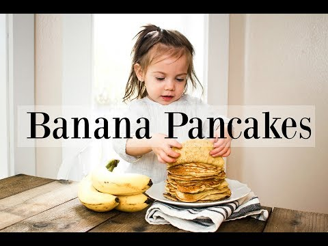 Homemade Banana Pancakes Recipe