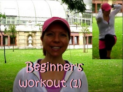 Full body workout for beginners, unfit, overweight: for a fit body & happy mood