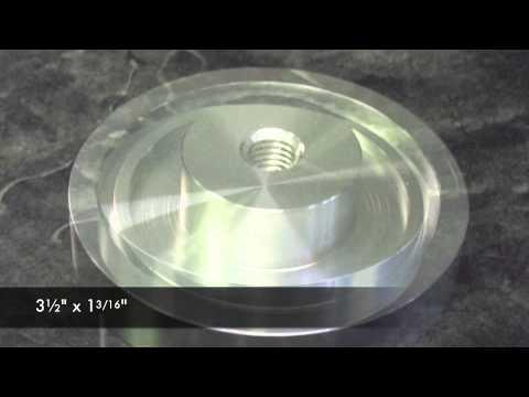 Glass Table Top Adapter - ReplacementTableLegs.com
