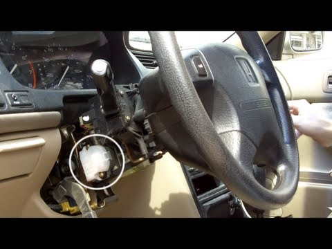 Honda Accord Ignition Switch Replacement