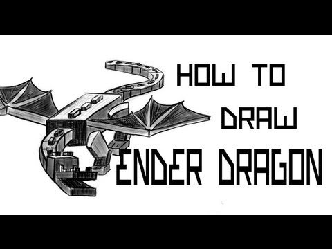 Ep. 86 How to draw the Ender Dragon