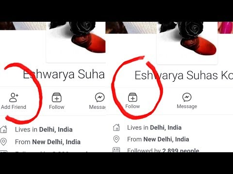 How To Add Follow Button On Facebook Profile