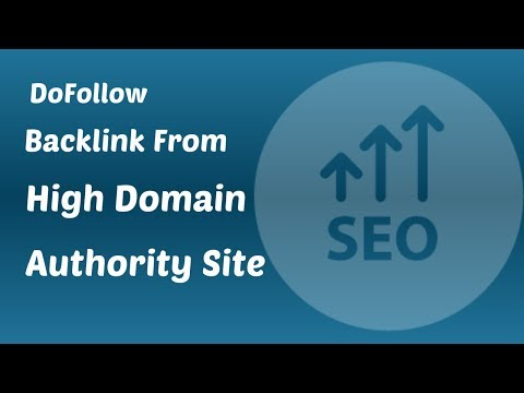 How To Get DoFollow Backlink from All4Webs | DA 60 | Off Page SEO