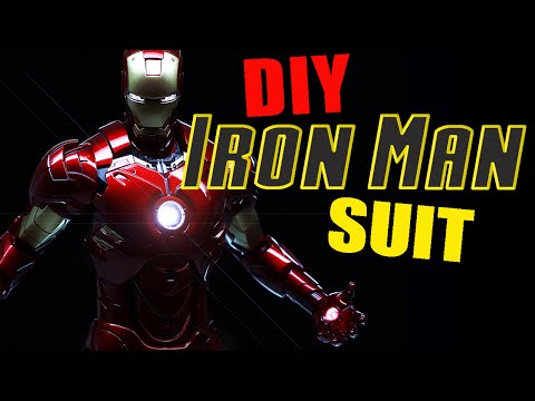 How to Make an Iron Man Suit [MUST SEE] DIY Iron Man Suit Review