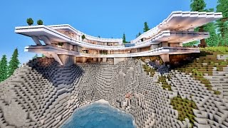 Maison Cool Minecraft. Top Amazing Minecraft Maisons De Luxe Angers ...