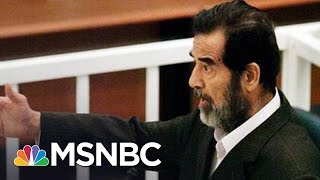 Inside The Interrogation Of Saddam Hussein: 10 Years After Execution   Andrea Mitchell   MSNBC