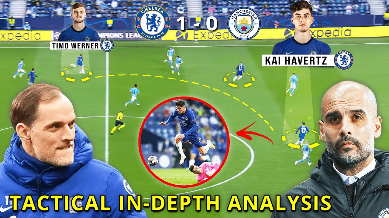 How Chelsea won the Champions League final | Guardiola's tactical blunder