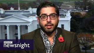 Nigel Farage, Donald Trump and me: Raheem Kassam - BBC Newsnight