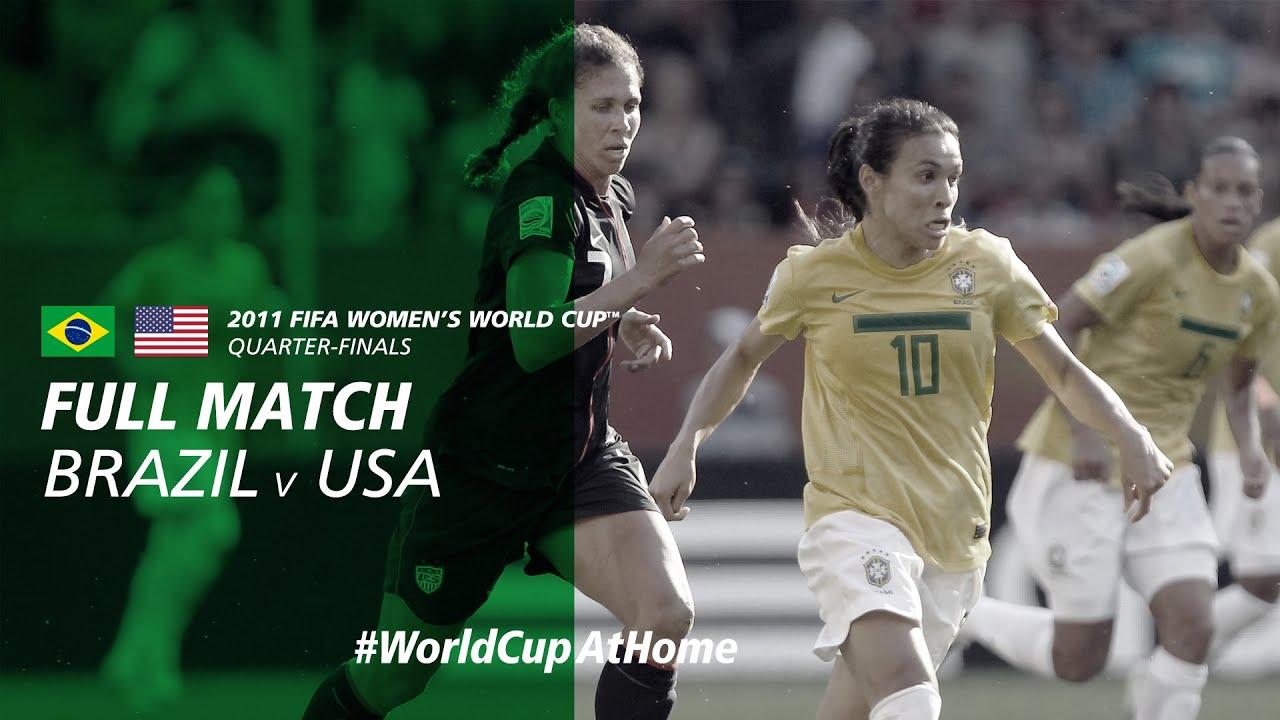 Brazil v USA | 2011 FIFA Women's World Cup | Full Match