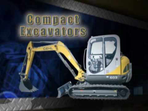Columbus Ohio Gehl Dealer Excavator Skidsteer Loader